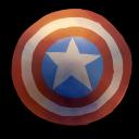 Comics Captain America Shield Emoticon
