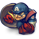 Comics Captain America Emoticon