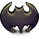 Comics Batman Logo Emoticon