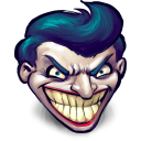 Comics Batman Joker Emoticon