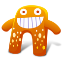 Creature Orange Emoticon