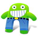 Creature Green Pants Emoticon