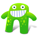 Creature Green Emoticon