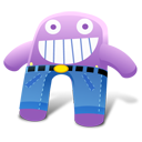 Creature Grape Pants Emoticon
