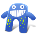 Creature Blue Emoticon