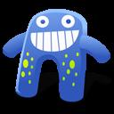 Creature Blue Emoticon
