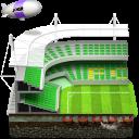 Soccer Football Stadium Emoticon