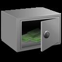 Strong Box Money Emoticon