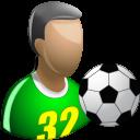 Footballer Emoticon
