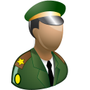 Army Officer Emoticon