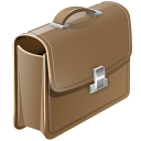 Brief Case Emoticon