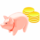 Money Pig 1 Emoticon