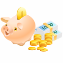 Money Pig Emoticon