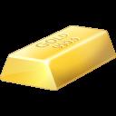 Gold Bullion Emoticon