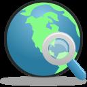 Search Globe Emoticon