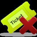 Remove Ticket 1 Emoticon