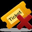 Remove Ticket Emoticon