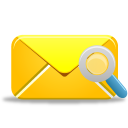 Mail Search Emoticon