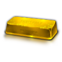 Gold Bullion Emoticon