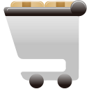 Shopping Cart Full Emoticon