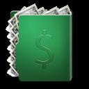 Dollar Folder Emoticon