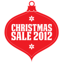 Christmas Sale 2012 Red Emoticon