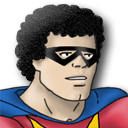 Mighty Man Zoomed Emoticon