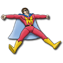 Mighty Man Emoticon