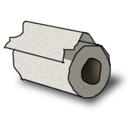 Toilet Paper Emoticon