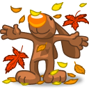I Love Autumn Emoticon