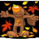 I Love Autumn Emoticon