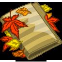 Autumn Folder Emoticon