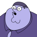 Peter Griffin Blueberry Zoomed 2 Emoticon