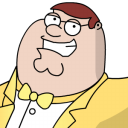 Peter Griffen Tux Zoomed 2 Emoticon