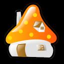 Smurf House Emoticon