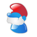 Papa Smurf Emoticon