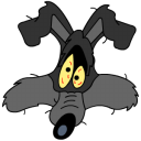 Wile E Coyote Explosion Emoticon