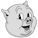Old Porky Emoticon