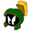 Marvin Martian Angry Emoticon