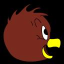 Henery Hawk Side View Emoticon