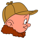 Elmer Fudd Hunting Emoticon