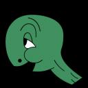 Cecil Turtle No Shell Emoticon