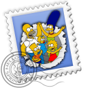 Mail Simpsons Emoticon