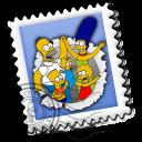 Mail Simpsons Emoticon