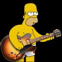 Garage Band Homer Emoticon