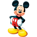 Mickey Mouse Emoticon