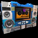 Transformers Soundwave Tape Side Emoticon