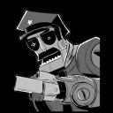 Robot Axe Cop Emoticon