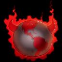 Bad Guy Earth Emoticon
