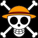 Luffys Flag 2 Emoticon